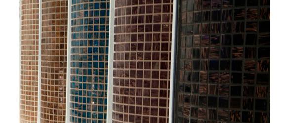 Juntas de colores en la lechada para piscinas la web de for Colores de gresite