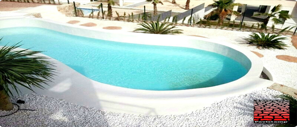 Pavicem micromortero para piscinas la web de los for Piscinas con gresite blanco