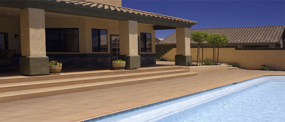 Pavimento ondulado Klinker para piscinas de Grecogres