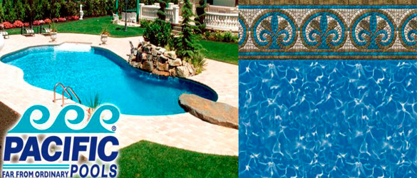Liners para piscina Pacific Pools