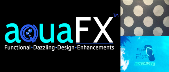 Personaliza tu piscina con aquaFX®, de ecoFINISH